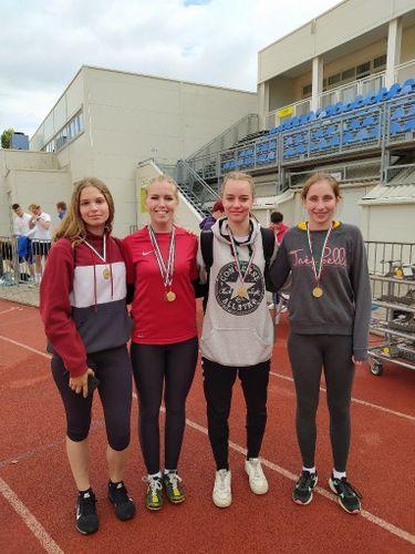Árpádos sikerek a Megyei Ügyességi Atlétika Csapatbajnokságon